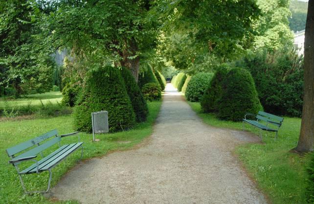 Auf dem alten Friedhof in Baden kommt im September 2002 ein Kind zur Welt.