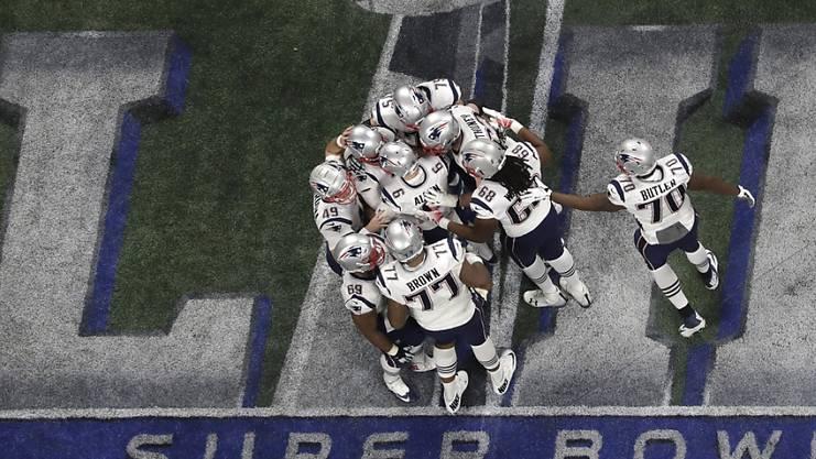 Zwei Super-Bowl-Siege in drei Jahren: Die New England Patriots sind seit 2017 Dauergast im NFL-Endspiel.