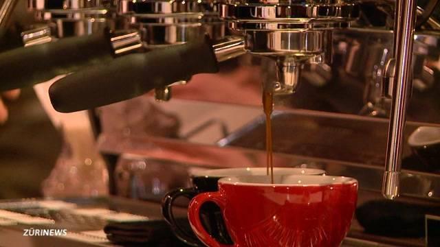 Kunst im Kaffee