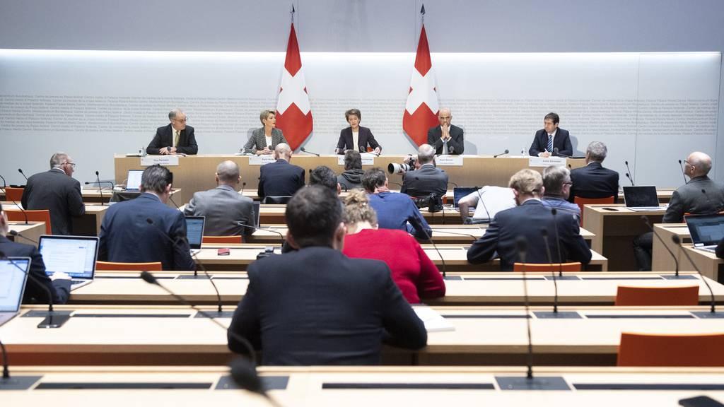 «Ausserordentliche Lage» in der gesamten Schweiz – Was bedeutet das?