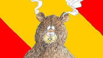 Da raucht dem Bär im Berner Wappen der Kopf.