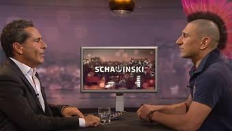 Dicke Luft: Roger Schawinski (links) und Andreas Thiel werden wohl nicht so bald wieder an einen Tisch sitzen.