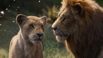 """Der Film """"The Lion King"""" hat sich am Wochenende vom 29. August bis 1. September 2019 in den Schweizer Kinos den Spitzenplatz zurückerobert. (Archiv)"""