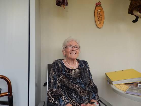 Elsbeth Adam hat viele Jahre neben dem Tüftler gewohnt, seine Wäsche gewaschen und manchmal für ihn gekocht.