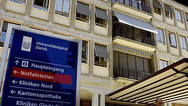 Das Unispital Zürich. (Archiv)