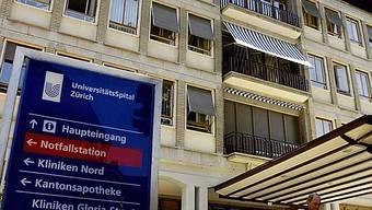 Das Unispital Zürich hat Platzprobleme (Archiv)