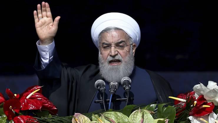 Irans Präsident Hassan Ruhani sprach sich für mehr Pluralismus und politische Teilhabe aus.