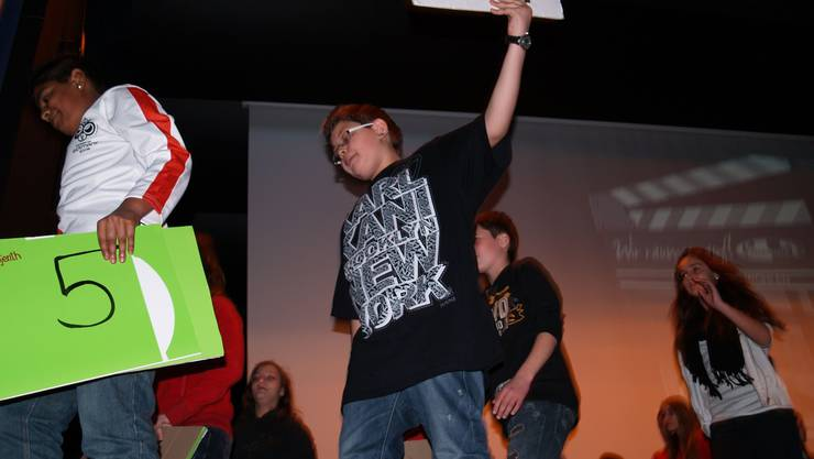 «Verrumet öiche Dräck!», fordern die Jugendlichen in ihrem Projekt. aw