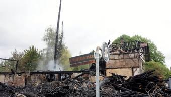 Brand altes Bauernhaus in Gerlafingen