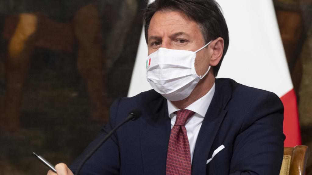 Italiens Ministerpräsident Giuseppe Conte. Foto: Claudio Peri/Pool Ansa/LaPresse via ZUMA Press/dpa