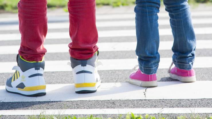 Die Kinder sollen im Strassenverkehr selbstständiger werden (Symbolbild)