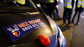Die Freiwilligen des Fahrdienstes Nez Rouge haben im Kanton Solothurn 816 Fahrten absolviert.