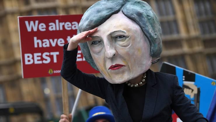 Obwohl Premierministerin May wie eine Löwin für ihren Deal gekämpft hatte, fiel er im Unterhaus durch.