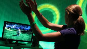 Die Kinect-Steuerung für die xBox