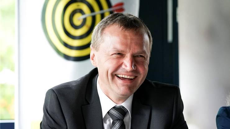Hätte die Unterschriften zur Amtsenthebungsinitiative gerne übergeben: Bernhard Guhl, ehemaliger Präsident der BDP Kanton Aargau.