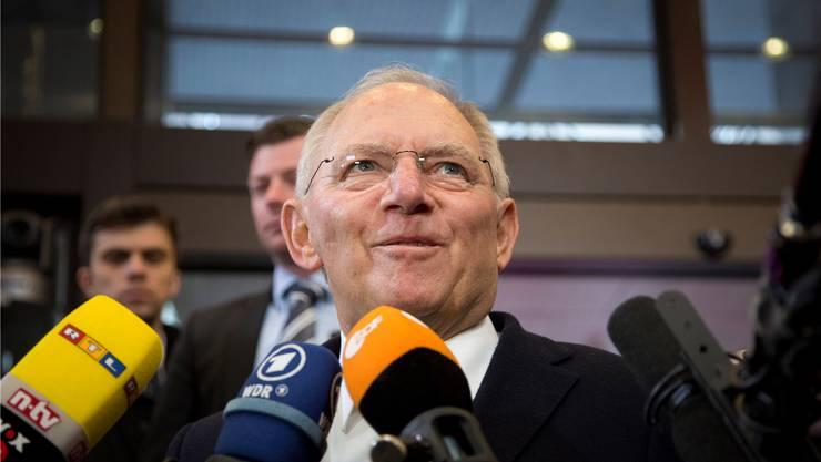 Aus der Sicht des deutschen Finanzministers Wolfgang Schäuble enthält das griechische Schreiben «keinen substanziellen Lösungsvorschlag». Virginia Mayo/key