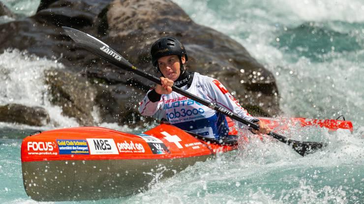 Die Europameisterin Melanie Mathys will bei ihrem Heimrennen an ihr Limit gehen.