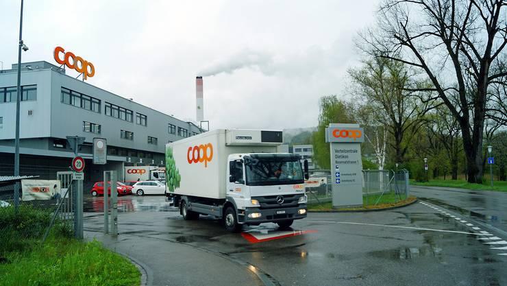 Von der Verteilzentrale des Coop in Dietikon werden ab Herbst 2017 sämtliche Pronto-Shops in der Schweiz beliefert.