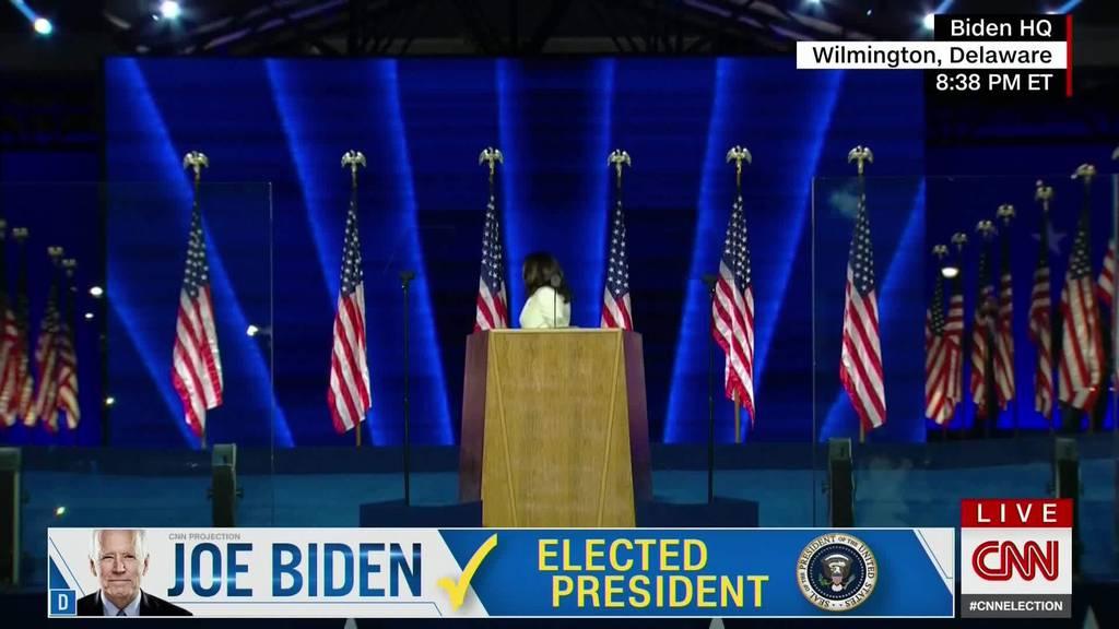 US-Wahlen: Reaktionen auf Sieg von Joe Biden