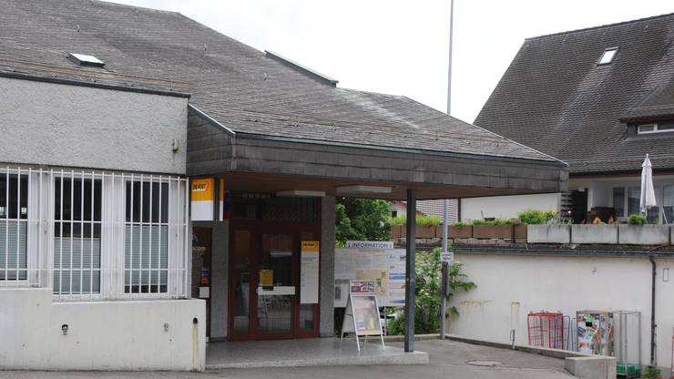 Die Postfiliale in Weiningen.