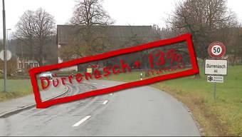 Die Aargauer Gemeinde Dürrenäsch war bekannt für ihre tiefen Steuern. Da nun aber ein guter Steuerzahler wegzieht, werden die Steuern um 13% erhöht.