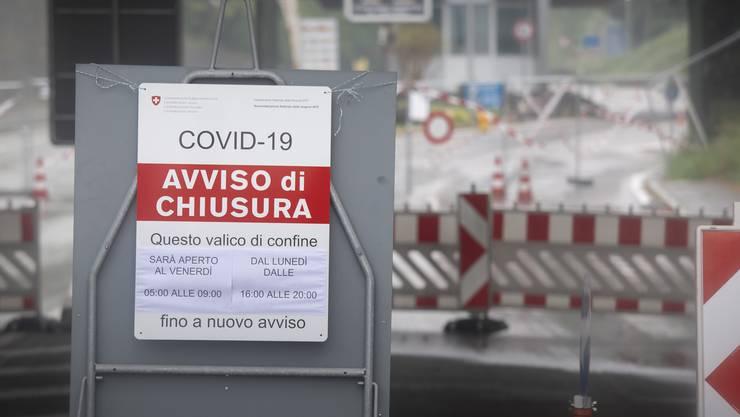 Die Grenzen zu Italien bleiben auch weiterhin geschlossen.