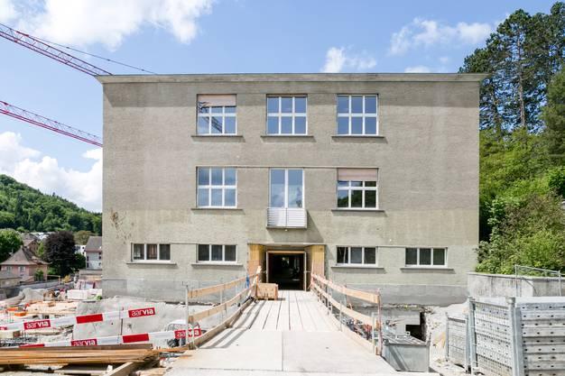Das kommunal geschützte Schulhaus Burghalde 1. Es wird sanft saniert.