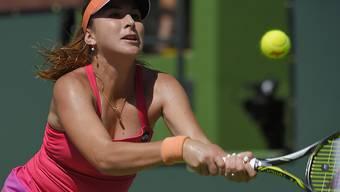 Belinda Bencic wurde am Turnier von Key Biscayne von einer Verletzung gestoppt
