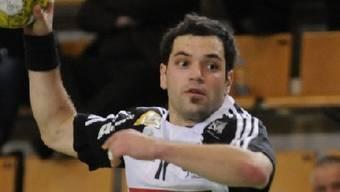 Sandro Badertscher steuerte 13 Tore zum Thuner Heimsieg bei