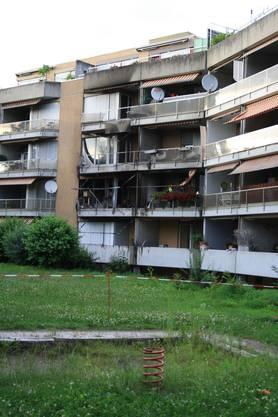 Mehrere Wohnungen wurden in Mitleidenschaft gezogen