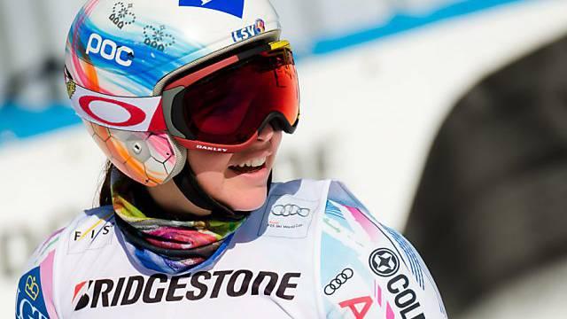 Vierter Weltcup-Sieg, zum zweiten Mal in Garmisch: Tina Weirather
