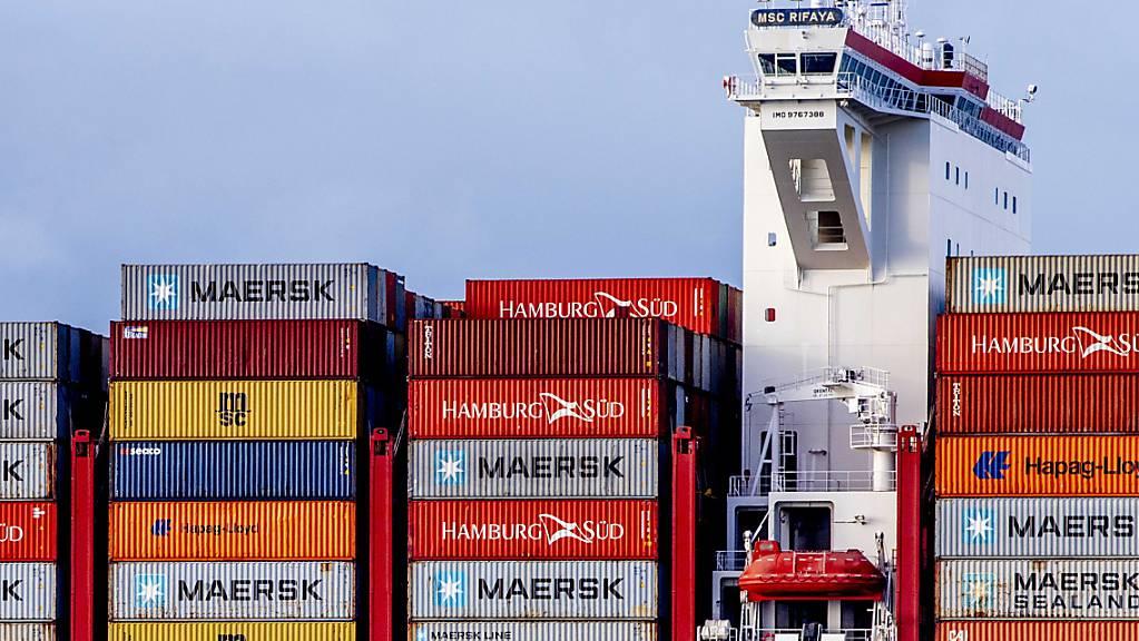 Die Schweizer Exportwirtschaft hat sich im März deutlich erholt. Im gesamten ersten Quartal resultierten nun Ausfuhren über dem Vor-Corona-Niveau. (Archivbild)