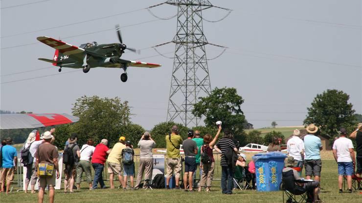 Zur Freude des Publikums an den Flugtagen in Schupfart gab es die Morane von ganz nah zu sehen.
