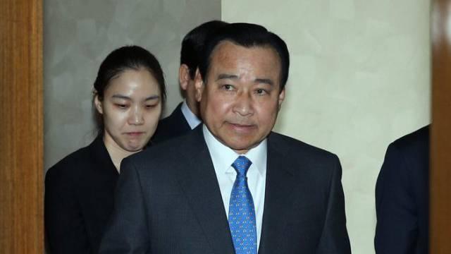 Der zurückgetretene südkoreanische Regierungschef Lee Wan Koo