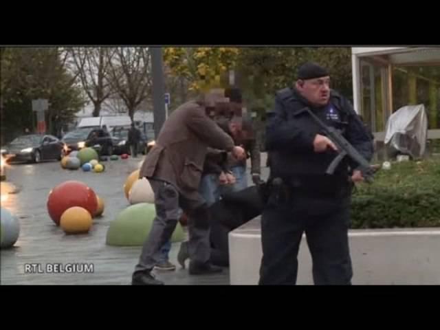 Verhaftungen im Brüsseler Stadtteil Moolenbeek