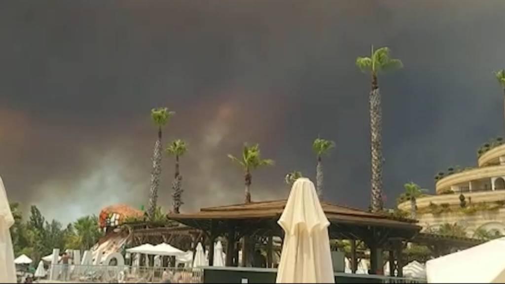 Mehrere Brände in türkischer Urlaubsregion Antalya ausgebrochen