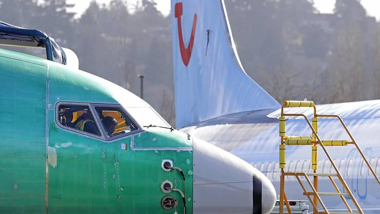 Das Flugverbot für die Boeing 737 MAX 8 sorgt beim Reisekonzern TUI für einen Gewinneinbruch. (Archiv)