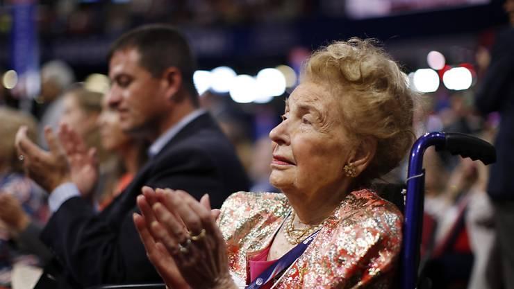 Sie trimmte die US-Republikaner auf einen erzkonservativen Kurs. Phyllis Schlafly starb im Alter von 92 Jahren. (Archivbild)