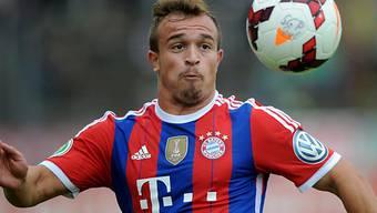 Bayerns Xherdan Shaqiri blieb im Cupspiel ohne Treffer