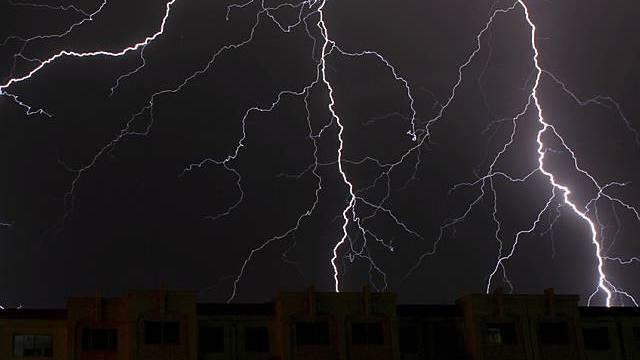 Gewitter ging mit Sturm einher (Archiv)