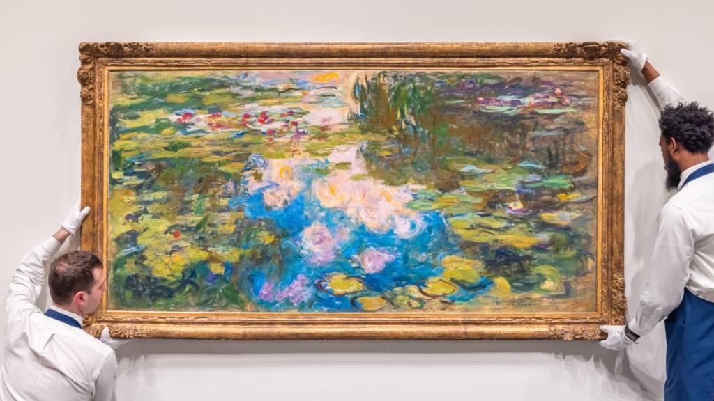 Seerosen von Monet könnten bei Auktion 40 Millionen Dollar bringen