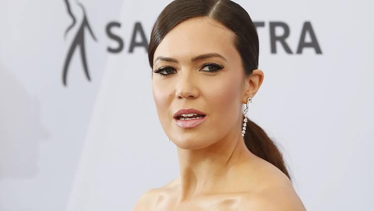 """Die amerikanische Schauspielerin und Sängerin Mandy Moore bekommt einen Stern auf dem """"Walk of Fame"""". (Archivbild)"""