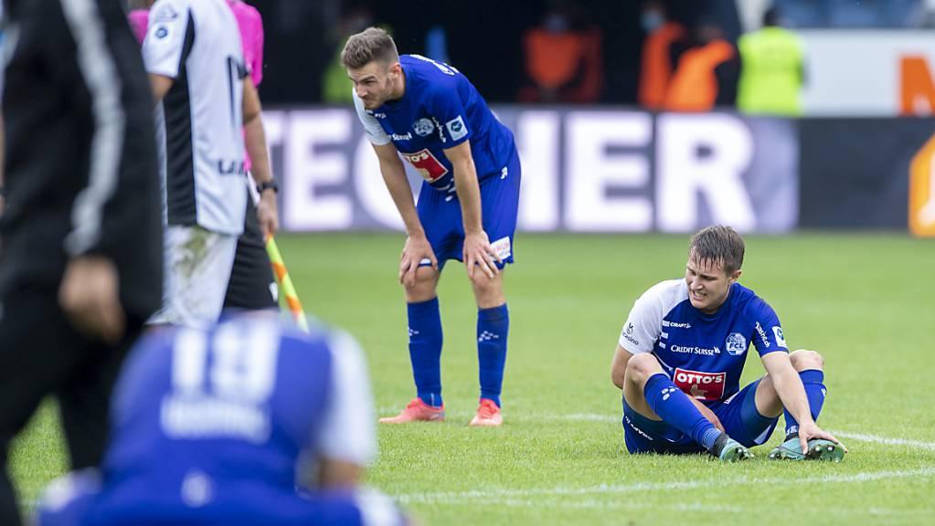 Auch das achte Spiel brachte nicht den ersten Sieg für den FC Luzern