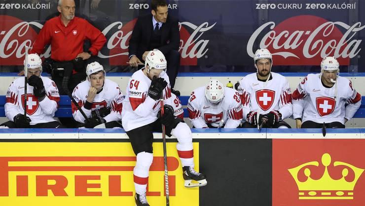 Die Schweiz verliert den WM-Viertelfinal gegen Kanada mit 2:3 nach Verlängerung.