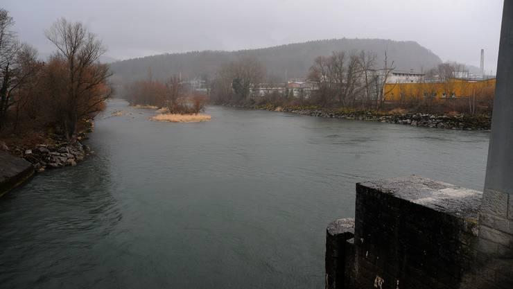 Der Hochwasserschutz unterhalb des Stauwehrs Winznau ist heute nicht gewährleistet.