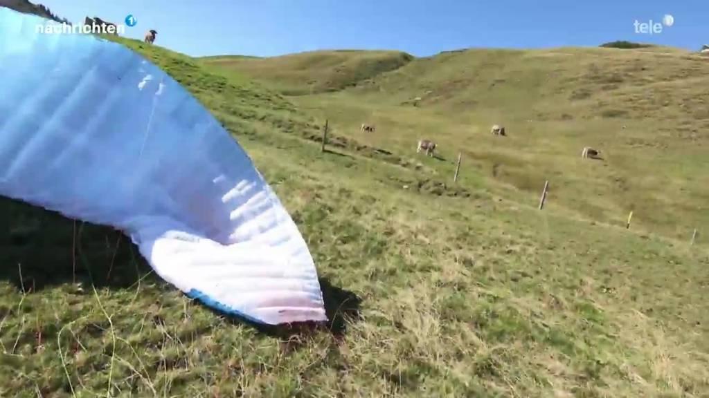Zweite Schweizer «Hike and Fly»-Meisterschaft