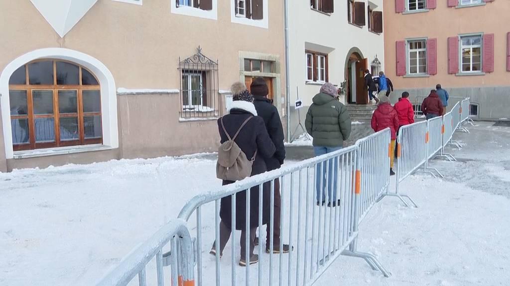 Erster Corona-Massentest der Schweiz gestartet