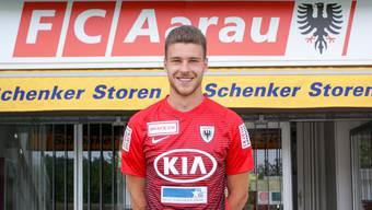 Giuseppe Leo hat beim FC Aarau einen Vertrag über zwei Jahre unterschrieben.
