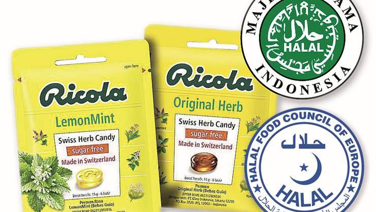 Die Ricola braucht zwei Zertifikate, um die Bonbons in den gewünschten Märkten vertreiben zu können.