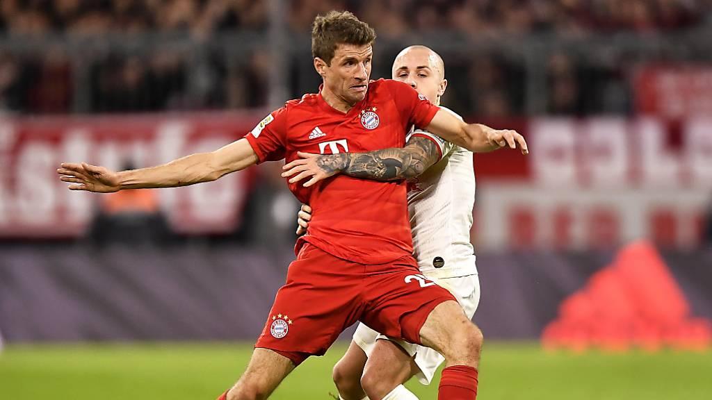 Thomas Müller zwei weitere Jahre bei Bayern München